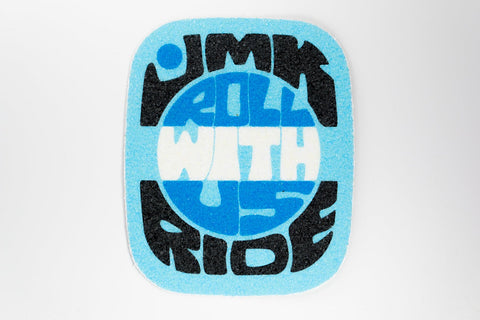 Cyan Retro Grip Tape