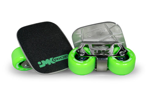 JMKRIDE - Complete Set - Classic Green/Chrome