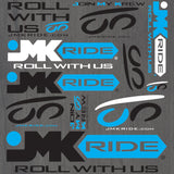 JMKRIDE Sticker Sheet