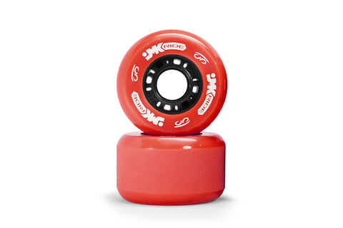 Classic Wheels - set of 2 - Red