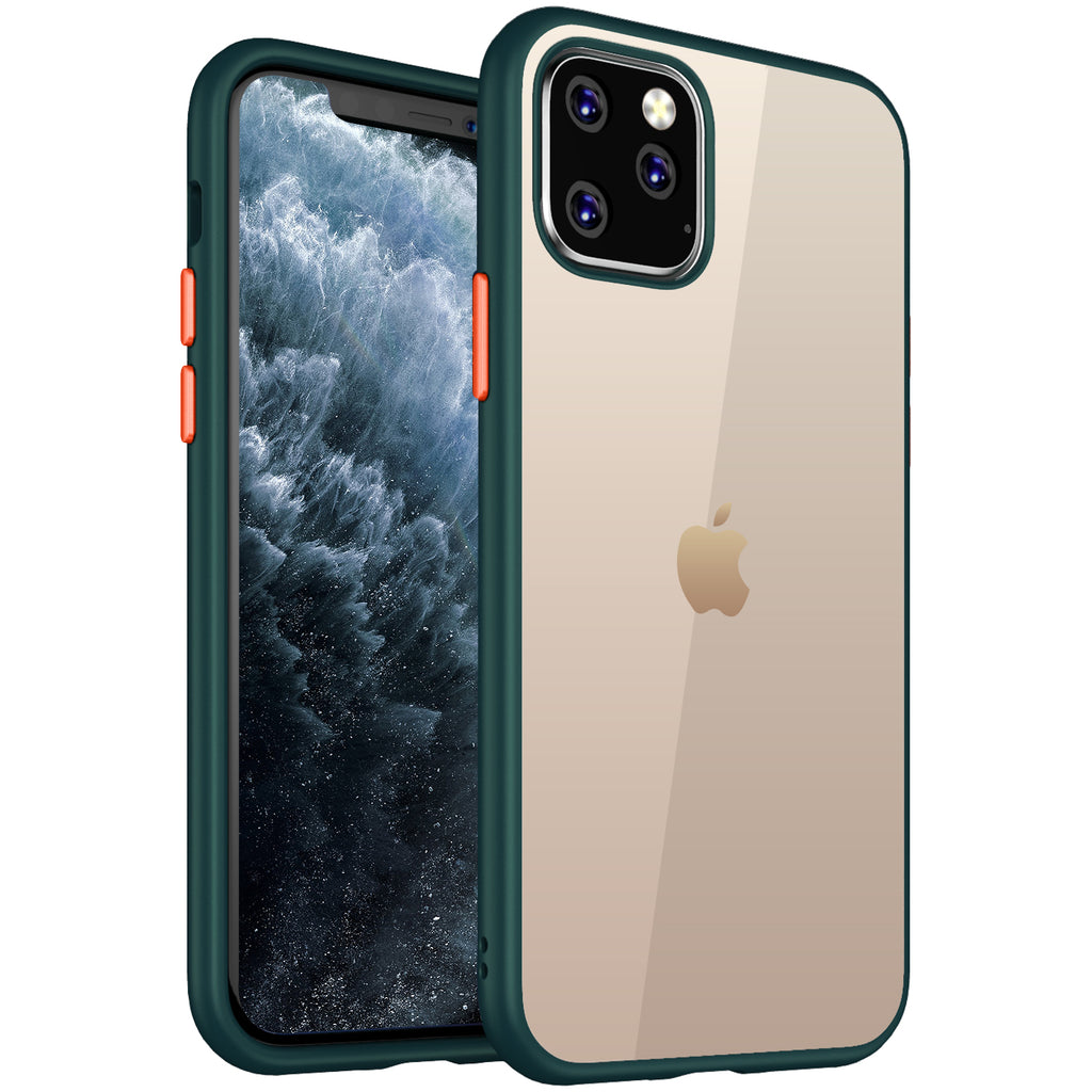 Apple, Back Cover, Drop Tested, TPU (Rubber), green, i phone 11 pro max, , Simply Clear, ₹500 - ₹699, PolyCarbonate (Plastic), Slim Design, Transparent