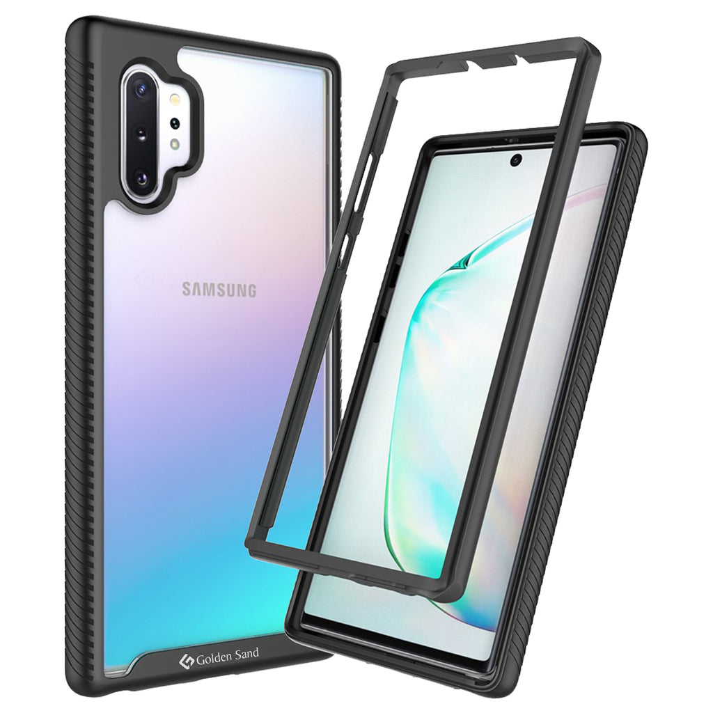 Back Cover, Drop Tested, TPU (Rubber), black, full body pro, ₹500 - ₹699, PolyCarbonate (Plastic), Ultra Protection, note 10 plus, , samsung, Transparent