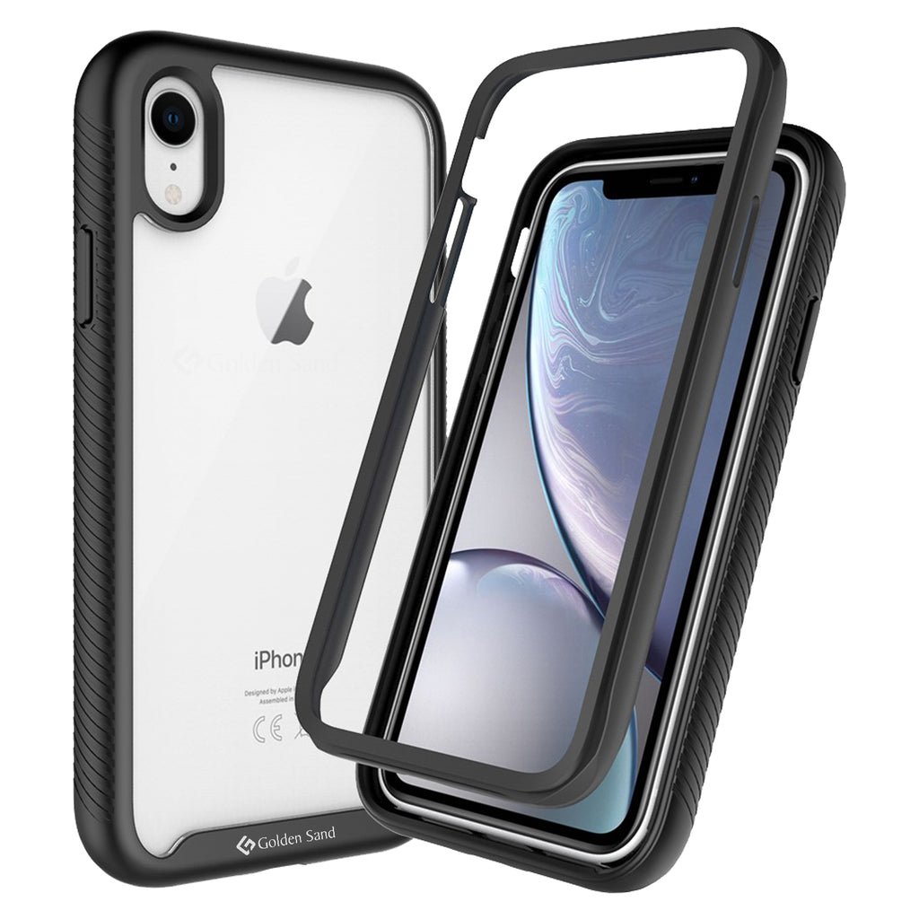 Apple, Back Cover, Drop Tested, TPU (Rubber), black, full body pro, ₹500 - ₹699, PolyCarbonate (Plastic), Ultra Protection, iphone XR, , Transparent