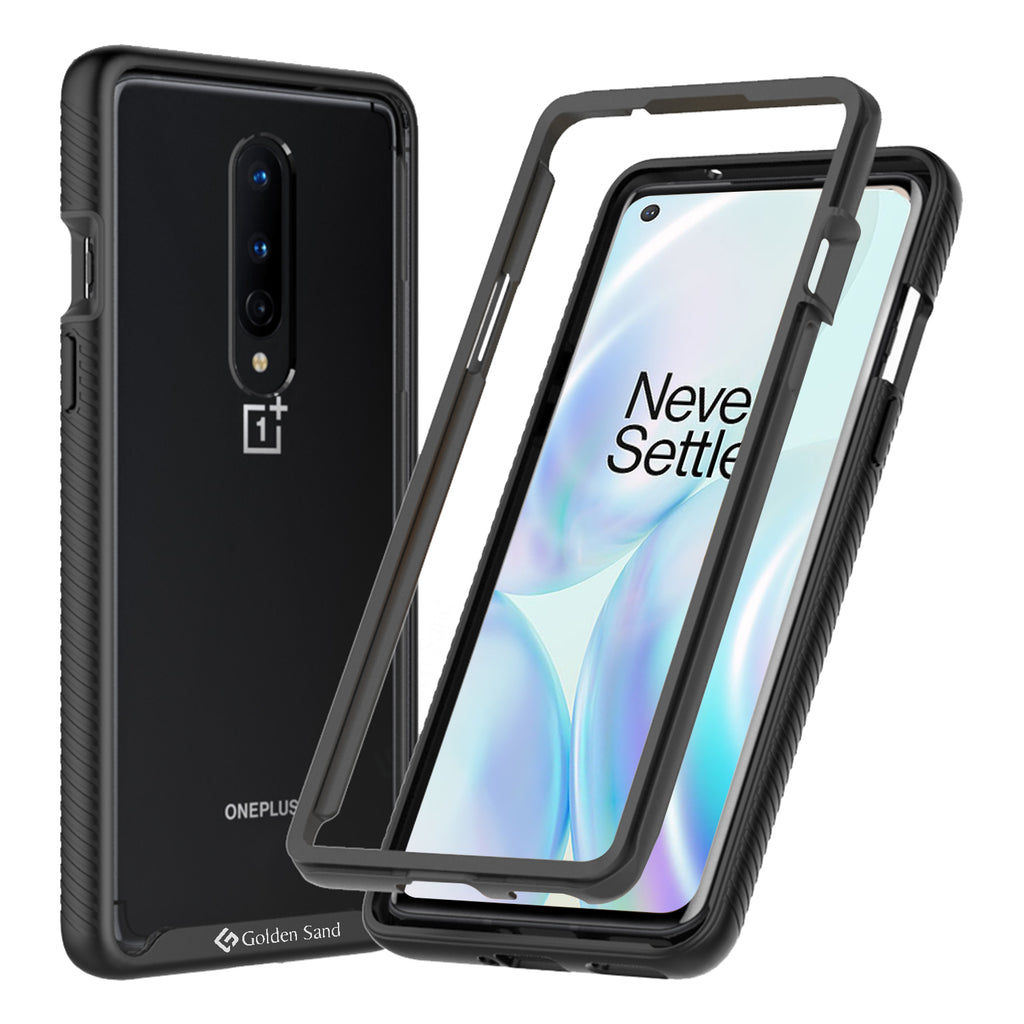 Back Cover, Drop Tested, TPU (Rubber), black, full body pro, ₹500 - ₹699, PolyCarbonate (Plastic), Ultra Protection, oneplus, oneplus 8, , Transparent