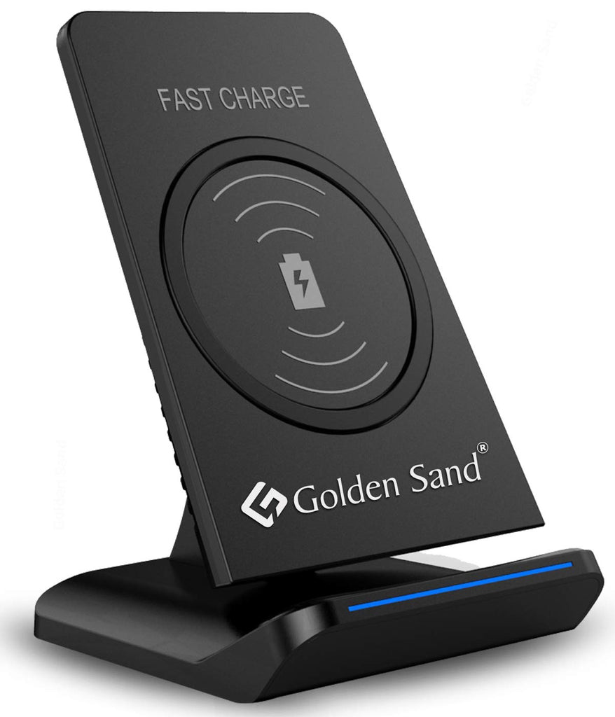 black, golden sand, LED light, wireless charger, wireless charging, ₹1000 & above