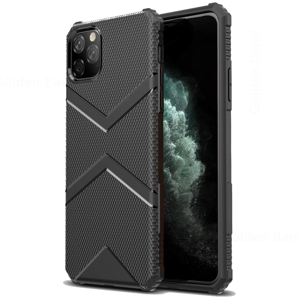 Apple, Back Cover, Drop Tested, TPU (Rubber), black, iphone 11 pro max, ₹500 - ₹699, X-Armor, PolyCarbonate (Plastic), Ultra Protection, Solid