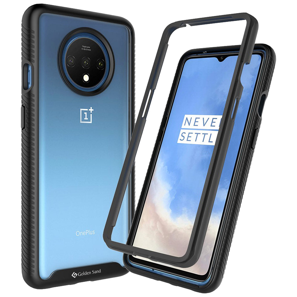 Back Cover, Drop Tested, TPU (Rubber), black, full body pro, ₹500 - ₹699, PolyCarbonate (Plastic), Ultra Protection, oneplus, oneplus 7T, , Transparent