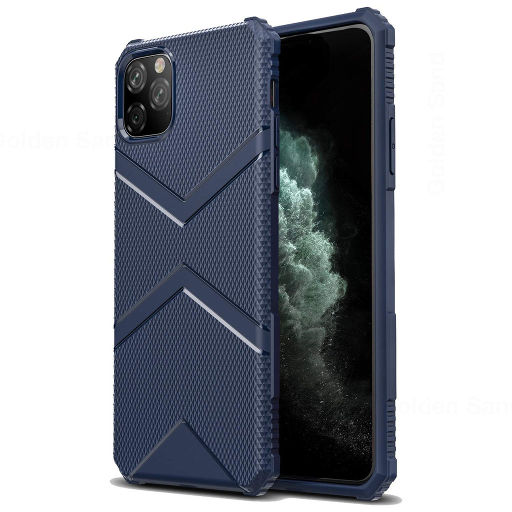Apple, Back Cover, Drop Tested, TPU (Rubber), blue, iphone 11 pro max, ₹500 - ₹699, X-Armor, PolyCarbonate (Plastic), Ultra Protection, Solid
