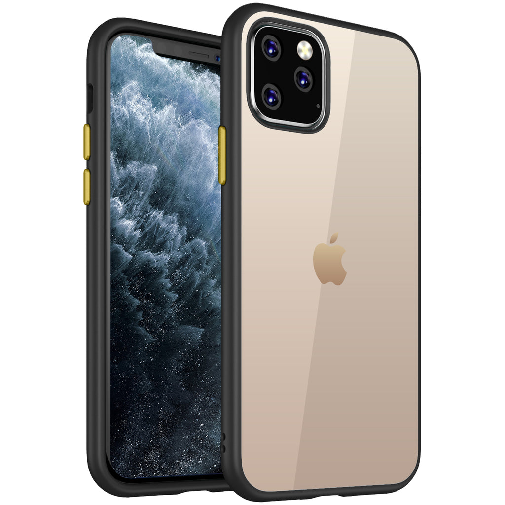 Apple, Back Cover, Drop Tested, TPU (Rubber), black, i phone 11 pro, , Simply Clear, ₹500 - ₹699, PolyCarbonate (Plastic), Slim Design, Transparent