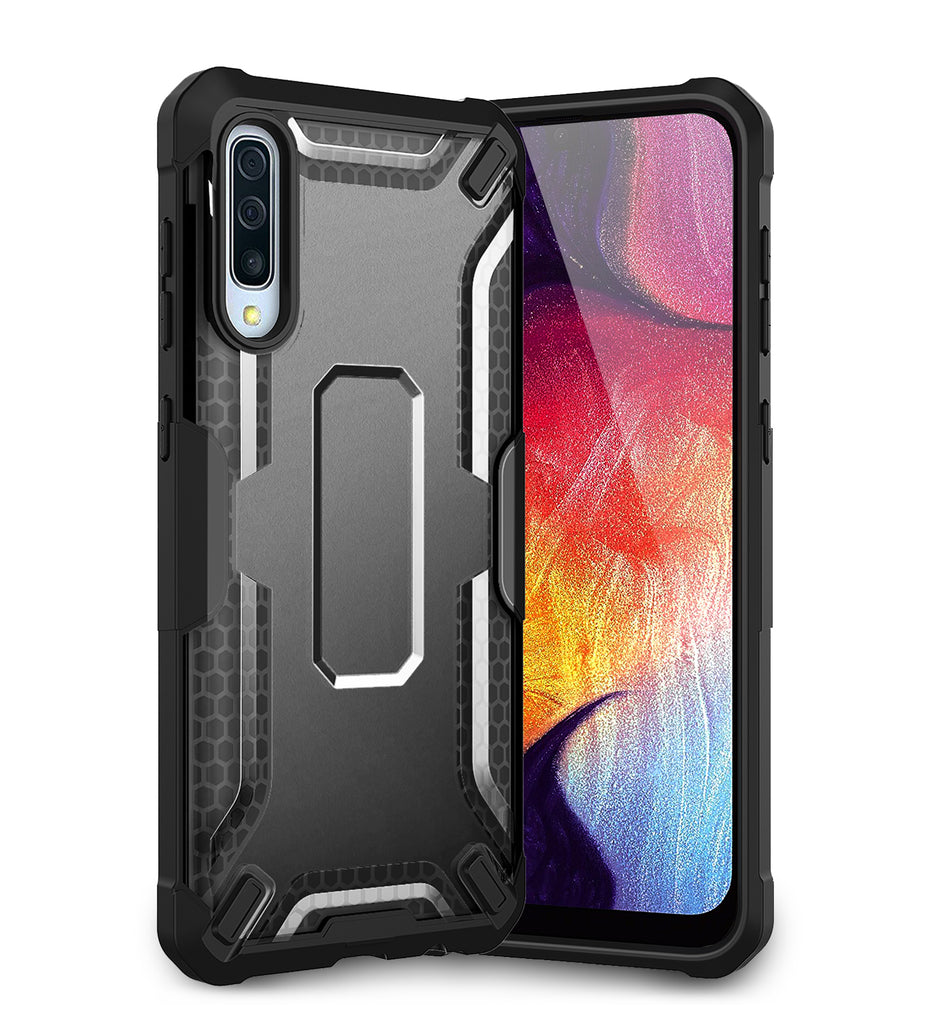 A30s, A50, A50s, Back Cover, Drop Tested, TPU (Rubber), black, Drop Defense Pro, ₹700 - ₹999, PolyCarbonate (Plastic), Ultra Protection, , samsung, translucent