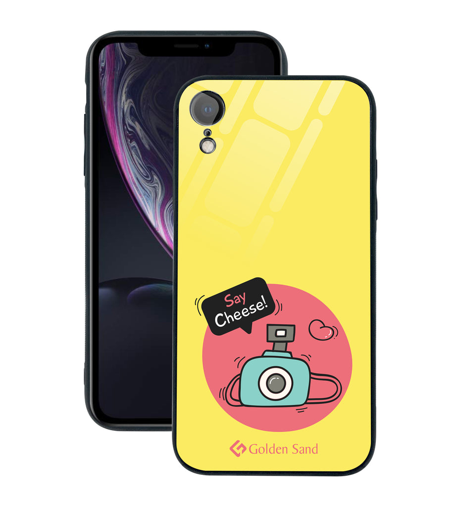 Apple iPhone XR Designer Case Tempered Glass Series