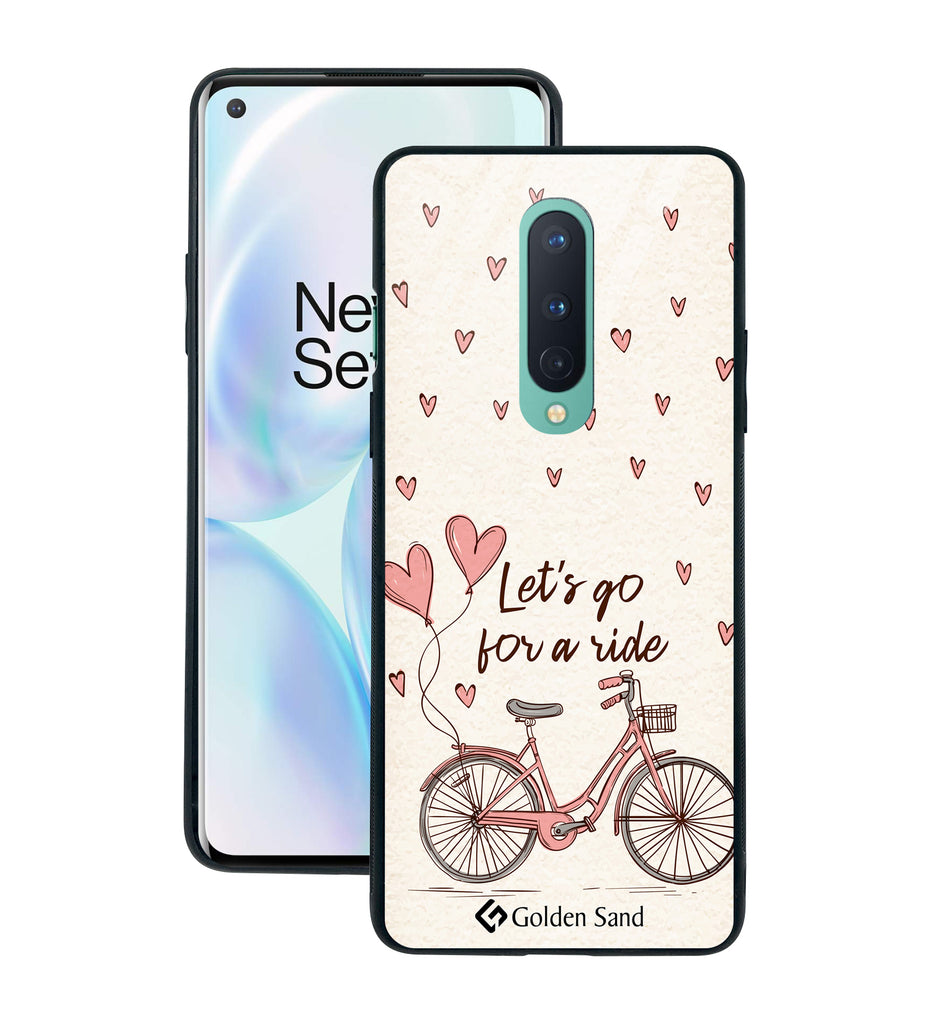OnePlus 8 Designer Case Tempered Glass Series