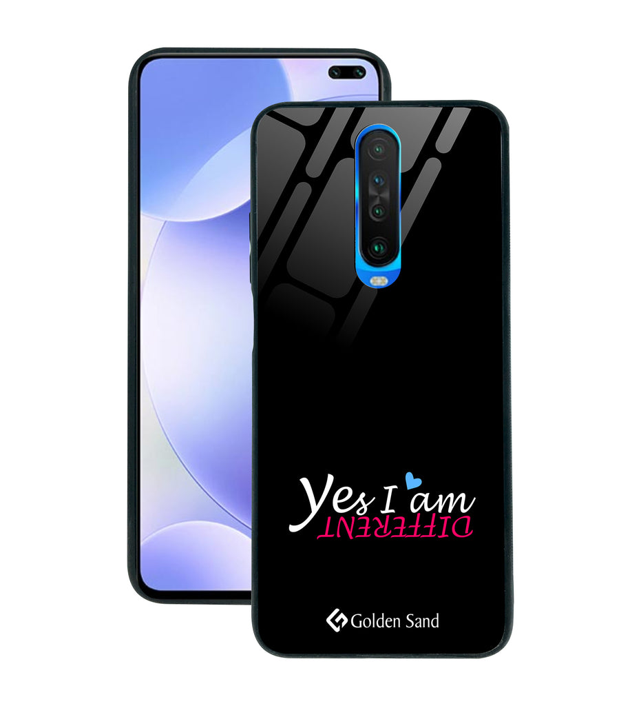 Xiaomi Poco X2 Designer Case Tempered Glass Series