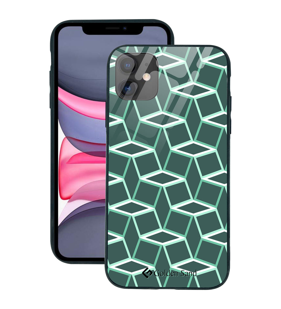 Apple iPhone 11 Designer Case Tempered Glass Series