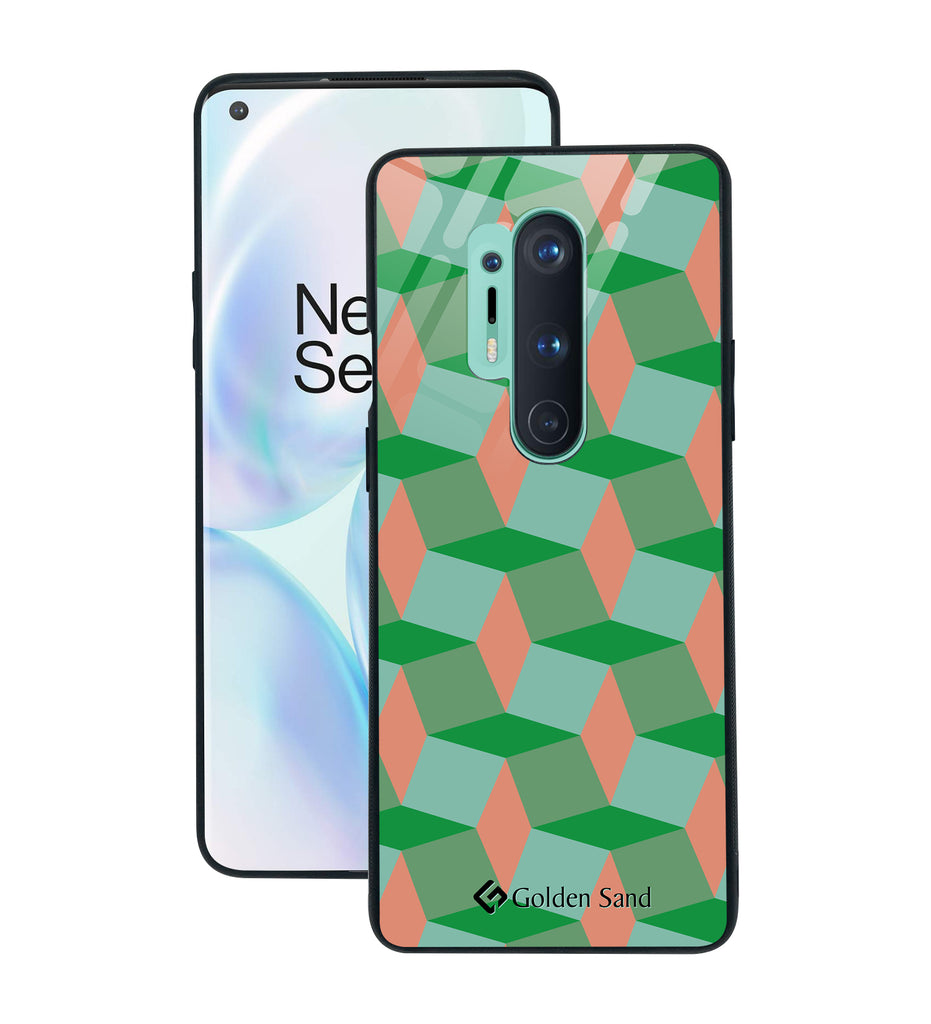 OnePlus 8 Pro Designer Case Tempered Glass Series