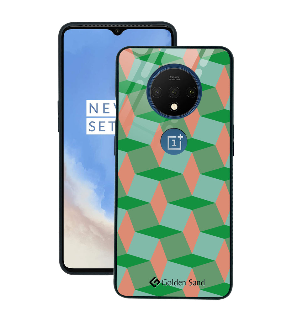 OnePlus 7T Designer Case Tempered Glass Series