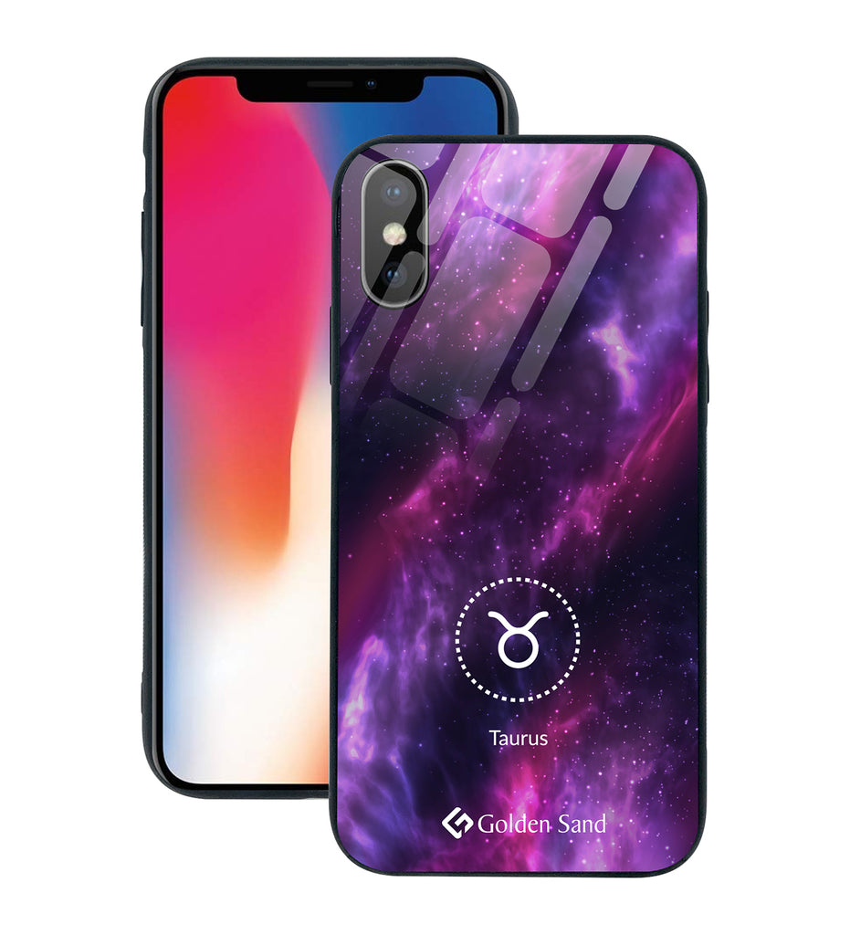 Apple iPhone X, XS Designer Case Tempered Glass Series