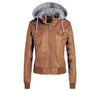 BERLETTI LEATHER CLASSIC HOODED JACKET