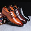 BERLETTI LEATHER GATSBY SHOE