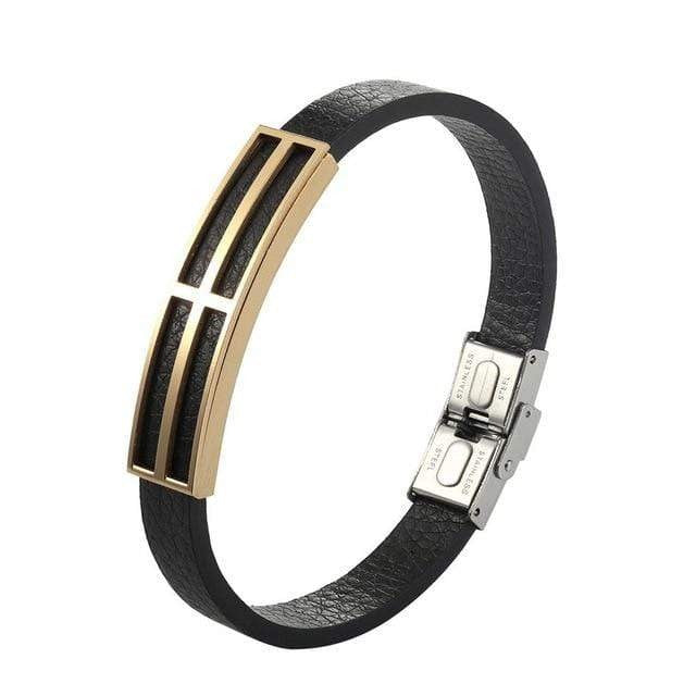 BERLETTI LEATHER SERPENTI CUFF