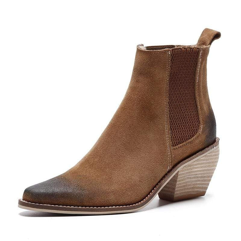 BERLETTI LEATHER SUEDE BOOT