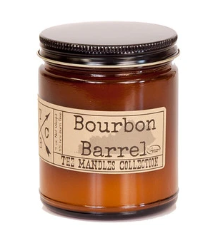 Bourbon Barrel MANdle
