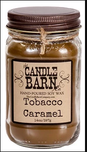 Tobacco Caramel Candle