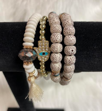Eye Of God Bracelet With Tassel Charm