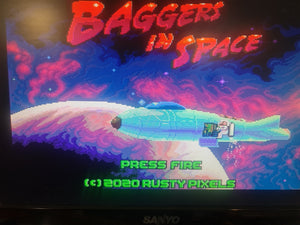 ZX Spectrum Next - Baggers in space A glorious Jetpac game remake Brilliant!!!