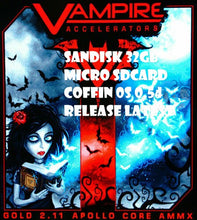 Load image into Gallery viewer, Amiga vampire v600/v500 os coffin r0.54 32gb sdcard AmiTCP intregrated freeshipping - Amiga Vampire Coffin os