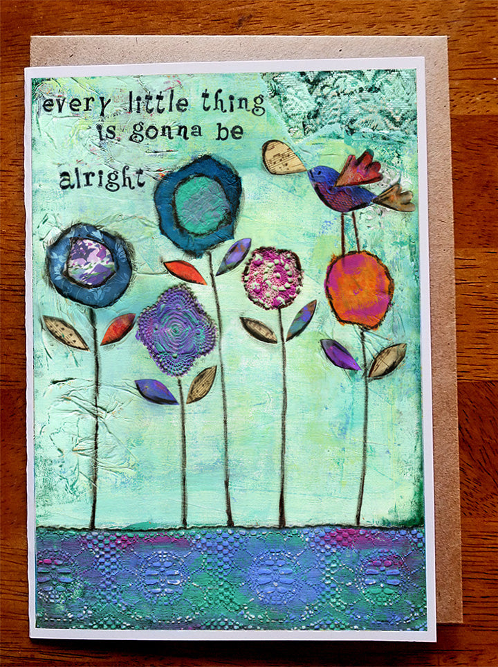 Every Little Thing... 5 x 7 greeting card