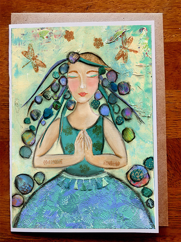 "At Peace.. 5"" x 7"" Card"