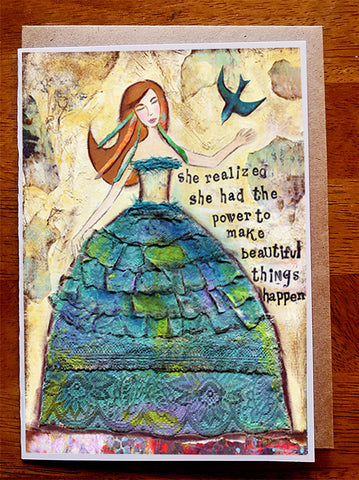 "Beautiful Things...... 5"" x 7"" Card"