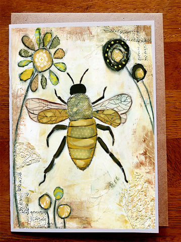 Bee.... Greeting Card
