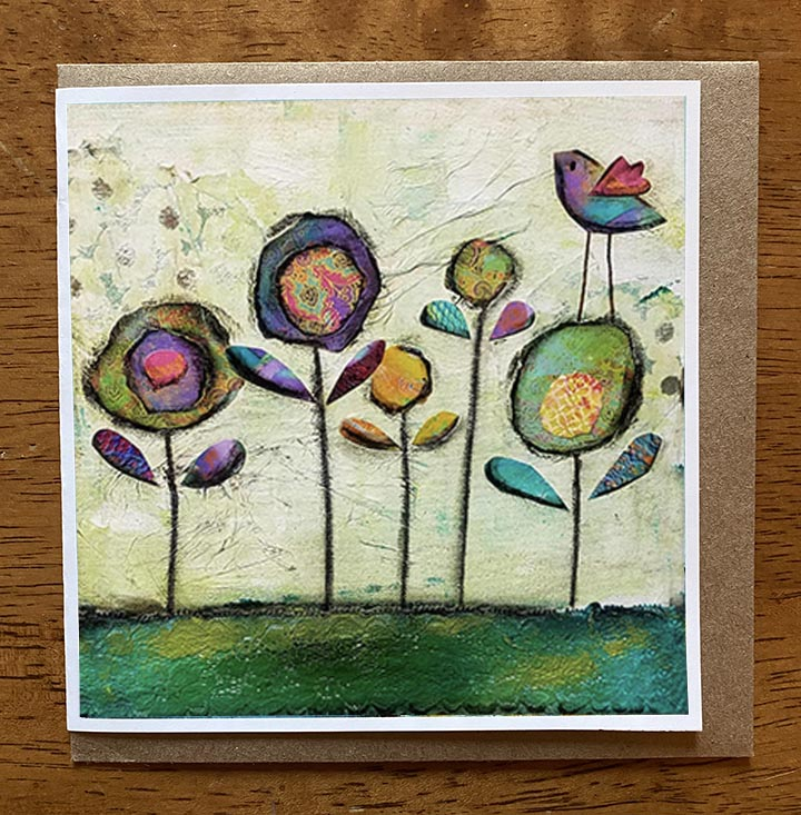 Gratitude.. 5 x 5 greeting card