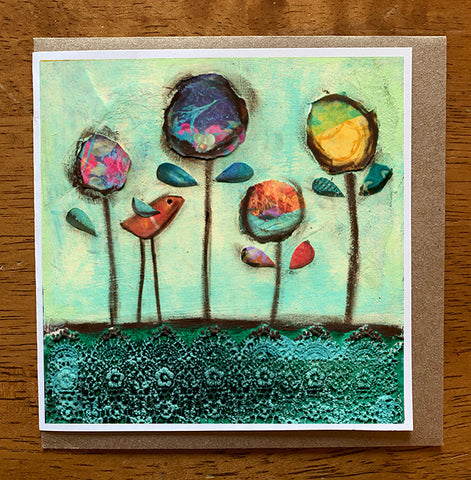 Beautiful Day..... 5 x 5 greeting card