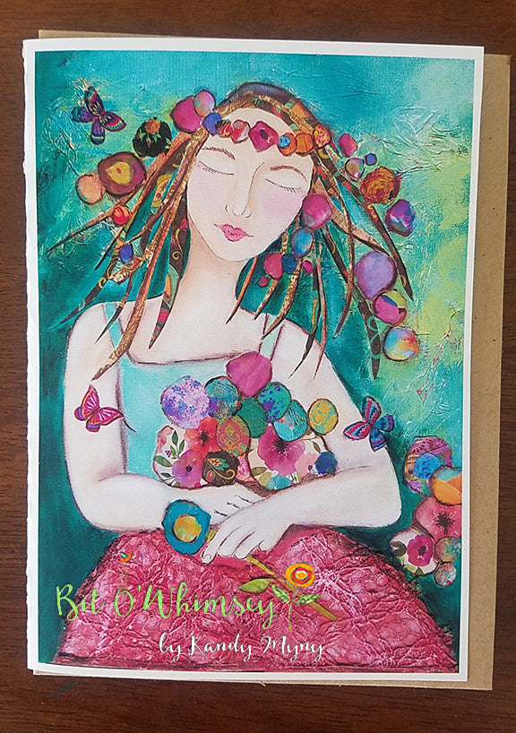 "Butterfly Dreams  5"" x 7"" Card"