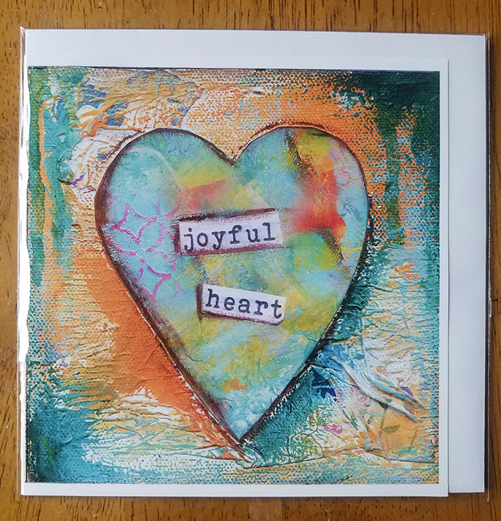 Joyful Heart..Card