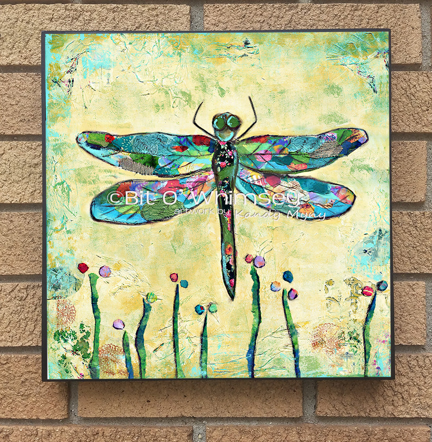 DragonFly,,,,wood block print