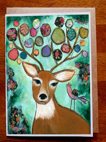Deer... Greeting Card