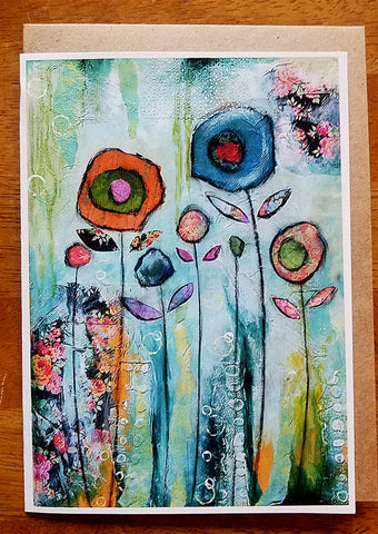 Dreamy Meadow.. Greeting Card