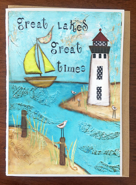 Great Lakes, Great Times Greeting Card