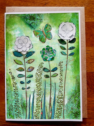 Green Meadow. Greeting Card