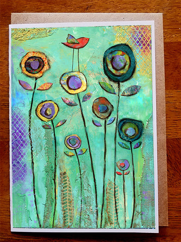 Meadow Song.....5 x 7. Greeting Card