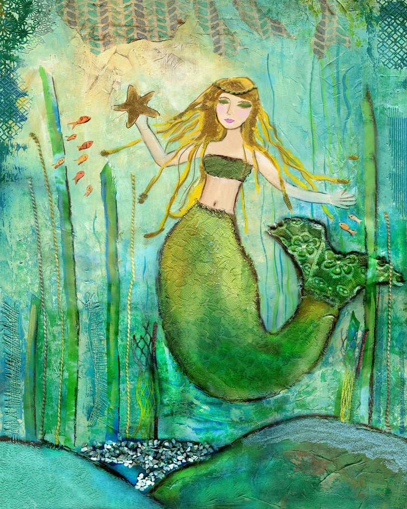 Mermaid with Starfish