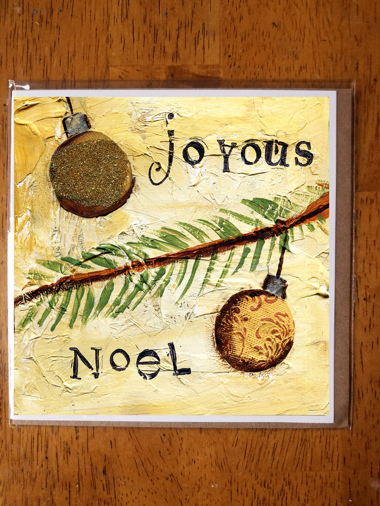 Joyous Noel 5 x 5 card with envelope