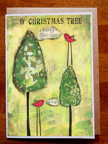 Oh Christmas Tree... 5 x 7 card with envelope