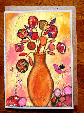 Autumn Bouquet...... Greeting Card