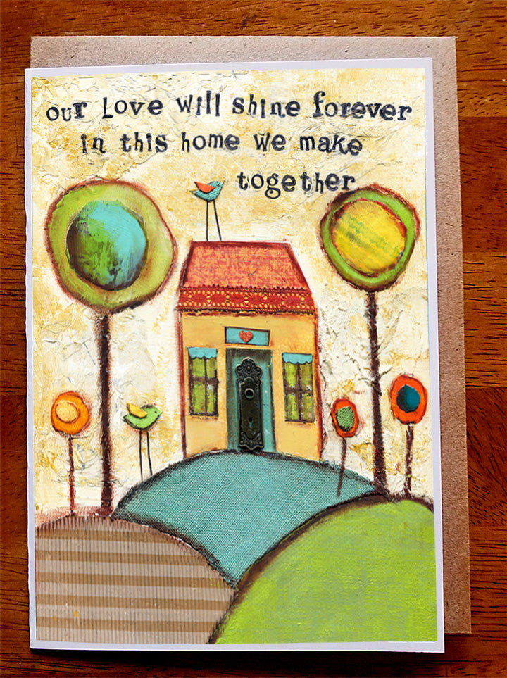 Our Love....5 x 7  Greeting Card