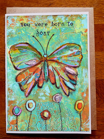 You Were Born to Soar...5 x 7  Greeting Card